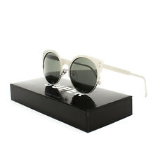 Super Sunglasses MQW Lucia Silber / Silver Cat Eye by RETROSUPERFUTURE