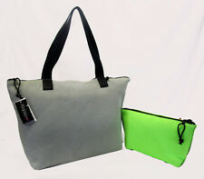 IDEOLOGY Grey/Green Mesh XL Tote Bag  Msrp $69.50 *** BRAND NEW WITH TAG ***
