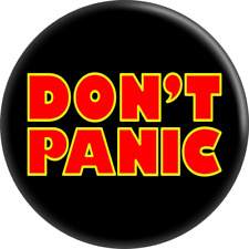 "31150 Don't Panic Hitchhiker's Guide Galaxy Sci Fi Gift 2.25"" Fridge Magnet Cool"