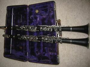 Schöne A & B Klarinette Klarinettenset clarinet set Max Schaller Kaiserslautern