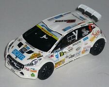 PEUGEOT 208 R5 TOTO RIOLO RALLY ELBA 2016  DECALS 1/43