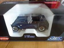 1:18 Kyosho Shelby Cobra 427 S/C, Blue Metallic, 1. Edition dans neuf dans sa boîte.