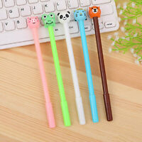 6pcs Cute Kawaii  Animal Cute Pen Gel Ink Roller Ball Point Pen School Kids Pens