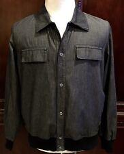 Men's Hugo Boss Red Label Jean Sweater Jacket Sz Large