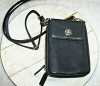 GUN TOTE'N MAMAS Crossbody Satchel Concealed Carry Bag Black Leather Cabela's