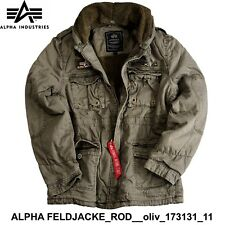 Alpha Industries Jacke Fieldjacket Oliv