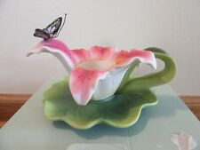 Partylite Stargazer Lily Tealight Holder,Never used,In box.