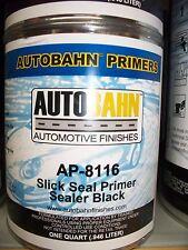 Black Slick Seal Primer Sealer Ready to Spray 1 Quart Auto Car Truck Paint Kit