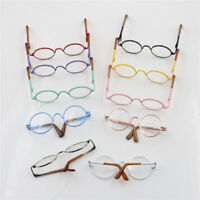 Round Frame Clear Lens Eyewear Glasses for 12'' Blythe Dolls Accessory ZJ~