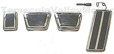 Pedal & Bezel Set for 1970-1972 MoPar E-Body 4-speed