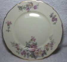 Vintage Heinrich H & C Selb Bavaria, Salad Plate, Gold edges, Great Condition