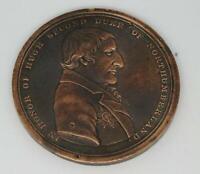 1816 Hugh Percy, 2nd Duke of Northumberland 1786 - 1817 Medallion