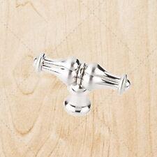 "Cabinet Hardware Tee Knobs kO18L Satin Nickel 2-1/4"" Overall Length"