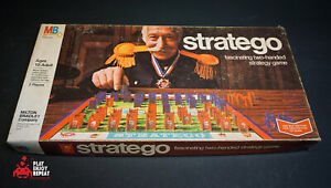 Vintage 1975 Milton Bradley Stratego Brettspiel Komplett Schnell