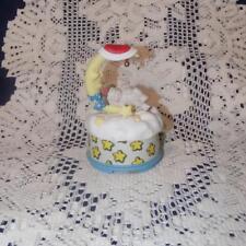 Dreamsicles Music Box-Moon Rocking Baby-Santa hat
