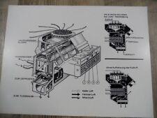 Zeichnung Frischluft-Heizung BMW 1800/2000 Modell 1969 SR917