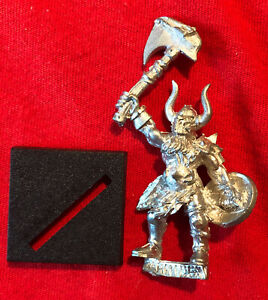 Warhammer Fantasy OOP Limited Metal Chaos Epitome of Evil tour Marauder Champion