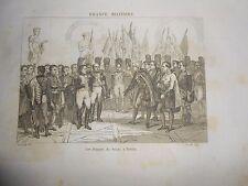 1836 STEEL ENGRAVING NAPOLEON WAR MEMBER OF SENATE IN BERLIN GERMANY
