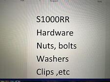 s1000rr washer plastic custom listing