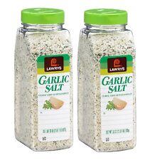 2pk Lawry's Garlic Salt 33 oz Coarse Ground with Parsley 33oz each bottle