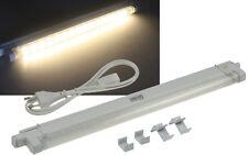 SMD LED Unterbauleuchte 27cm Küchenlampe Lichtleiste Lichtfarbe Warmweiß 20021