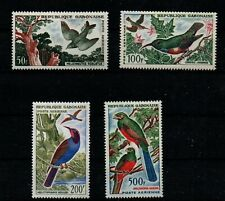 GABON 1961  BIRDS  PART SET ( 4 OF 5 )  CV £49 SUPERB UNHINGED MINT