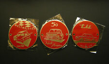 Weltmeister,North America, BMW 2002 Tii Badge(s) in Red