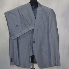 EMPORIO ARMANI 'David' Suit 1 Button Front Peak Lapel New NWT $1495 52Eu 42 US