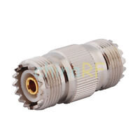 SO239 DOUBLE FEMALE JOINER COUPLER FOR PL259 COAX PLUGS