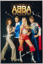 4x6 SIGNED AUTOGRAPH PHOTO REPRINT of ABBA #TP