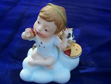 """Vintage Almost Angels 1986 """"Make The Most Of Every Opportunity"""" Figurine"""