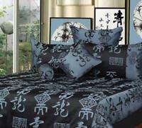 Phase 2 Warlord Oriental Jacquard European Pillowcase Pair - Steel Blue