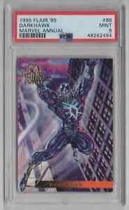 1995 Flair '95 Marvel Annual #86 Darkhawk - PSA 9 MINT - NEWLY GRADED   (LL69)