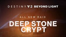 Destiny 2 Deep Stone Crypt Full Raid Completion! Guaranteed Rewards! PC Only.