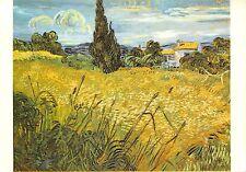 BR42978 Van Gogh Les Bles verts paint peintures