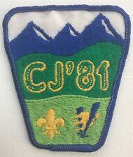 1981 Canada Jamboree CJ'81 Patch
