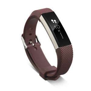 Silicone Replacement Buckle Sport Watch Wrist Band For Fitbit Alta HR ACE Strap