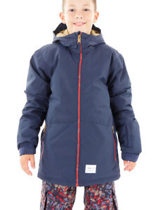 O'Neill Skijacke Snowboardjacke Flux blau Hyperdry Firewall Taschen
