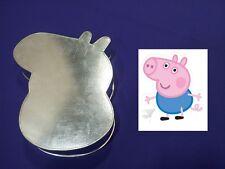 "Novelty Baking Tins - George Pig - 3"" Deep"
