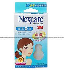 3M Nexcare Acne Care Pimple Stickers Patch Set 40% Ultrathin 0.03cm 30 Pcs