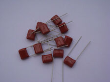10PCS CBB 224K 400V CL21 0.22UF 220NF P10 Metallized Film Capacitor