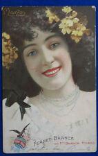 """FERNET BRANCA  Marzo  Pubblicitaria postcard viaggiata  """" 900  f/p#15204"""