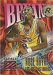 1996 - 1997 Fleer Z-Force Kobe Bryant Los Angeles Lakers #142 Basketball Card