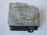 Motorsteuergerät Steuergerät Opel Omega B 2,0L 90492381 0 201 203 587