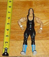 2003 WWF WWE Jakks Bret Hart Foundation Classic Wrestling Figure Black tights