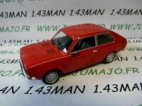 PL153U VOITURE 1/43 IXO IST déagostini POLOGNE : FIAT 128 coupé 3 portes rouge