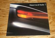 Original 1990 Nissan Car & Truck Full Line Deluxe Sales Brochure 90 300ZX 240SX