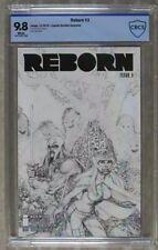REBORN #3 CBCS 9.8. Greg Capullo Sketch Variant Cover. Limited 1 for 100.