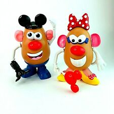 Disney Mickey and Minnie Mouse Mr Potato Head toy Bundle Playskool