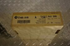 ALLEN BRADLEY SLC500 1746-IV8 INPUT MODULE